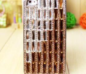 Luxurious iphone 5 case, crystal swarovski type iphone 5 case